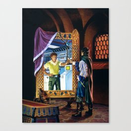 The Other Side of the Mirror Canvas Print