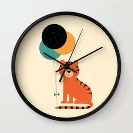 Time To Celebrate Wall Clock