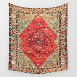 N114 - Vintage Old Antique Oriental Moroccan Artwork. Wall Tapestry