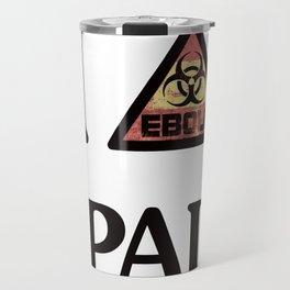 I -ebola- SPAIN Travel Mug