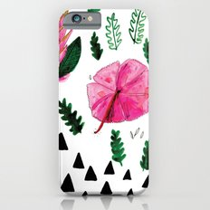 Tropical flowers Slim Case iPhone 6s