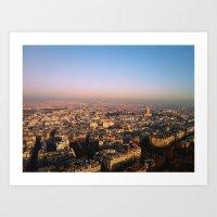 Paris, Mon Amour. Art Print