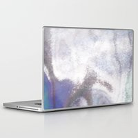 holographic Laptop & iPad Skins featuring An abstract colorful holographic futuristic texture. by Bastetamon