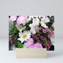 Birthday Flowers 2 Mini Art Print