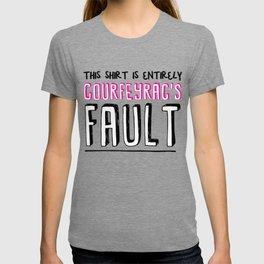 courfeyrac's fault T-shirt