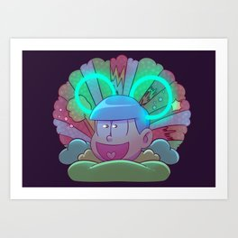 Osomatsu-san :: Electrical Parade (ver3) Art Print