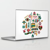 movies Laptop & iPad Skins featuring Summer Movies by RevengeLover