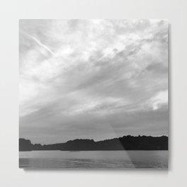Spy Pond Rowers  Metal Print