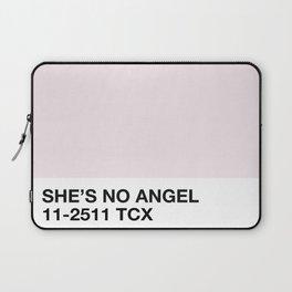 she's no angel Laptop Sleeve