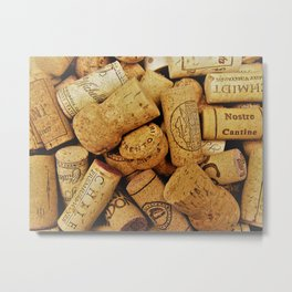 Warm Color Corks Metal Print