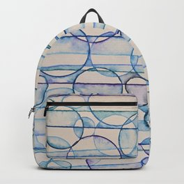 Bubbles of Blue Backpack