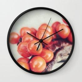 Seed Pods II Wall Clock