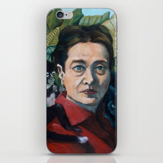 Simone DeBeauvoir iPhone Skin