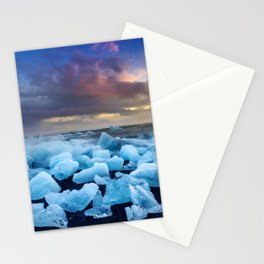 The Blue Crush Iceland Stationery Cards