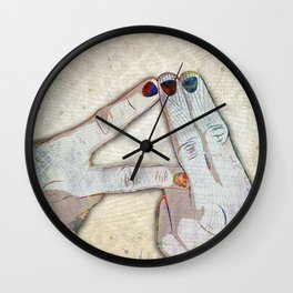 Alt-J Fan Art Wall Clock