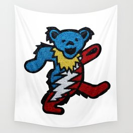 The Dead Dancing Bear Wall Tapestry
