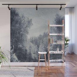 Frozen Forest Wall Mural