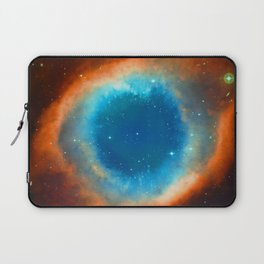 Eye Of God - Helix Nebula Laptop Sleeve