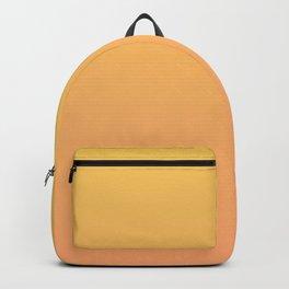 Yellow to Orange Ombre Shaded Orange to Mango Sorbet Ice Cream Gelato Backpack