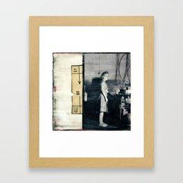 Women's Work One Framed Art Print