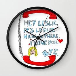 Hey Leslie, It's Leslie Wall Clock
