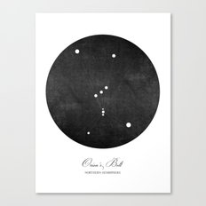 Orion's Belt Art Print Canvas Print
