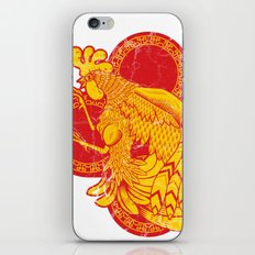 Rooter Red iPhone & iPod Skin