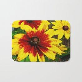 Flower | Flowers | Gaillardia Flower Garden | Nature Bath Mat