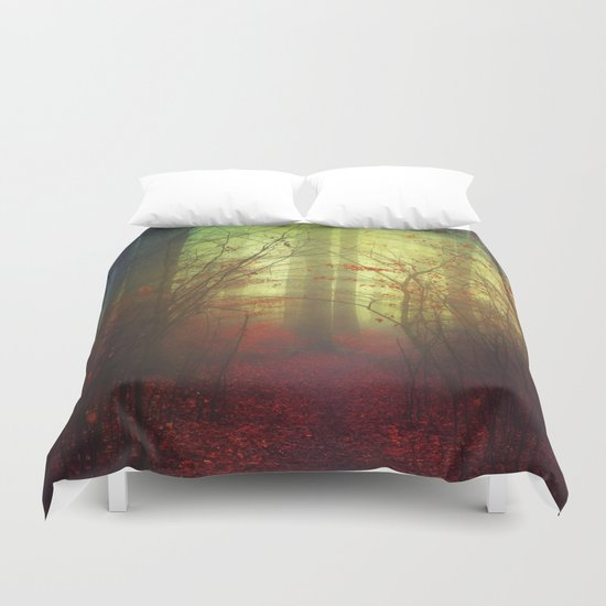 the way in - variation Duvet Cover