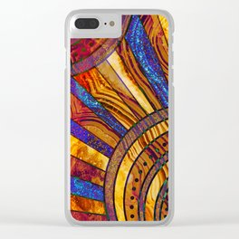 sun kissed Clear iPhone Case