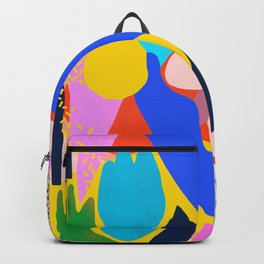 Unbridled Enthusiasm - Shapes and Layers no.38 Backpack