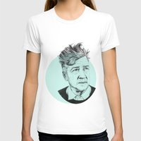 lynch T-shirts featuring David Lynch by Ruth Hannah