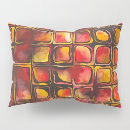 Red Blood Cells in Flow Pillow Sham