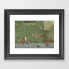 Street (Rue) Framed Art Print