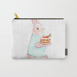 Carrot Cake Bunny Carry-All Pouch