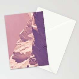 Pink Sherbet - Alaskan Mts. I Stationery Cards