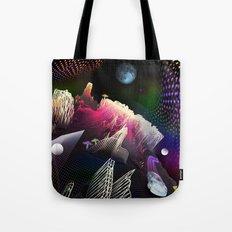 Moonlight Drive Tote Bag