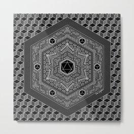 August Mandala 2018 Metal Print