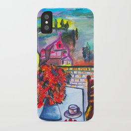 Room With A View  #society6 #decor #buyart iPhone Case