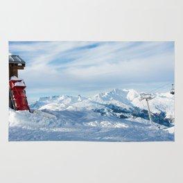 Mountain rescue station Rug