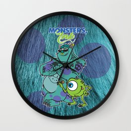 Monsters Ink Wall Clock