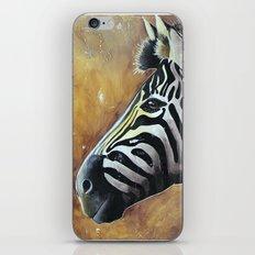 Zebra - Alfred the Traveler - by LiliFlore iPhone & iPod Skin