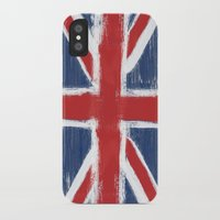 uk iPhone & iPod Cases featuring UK by Justified