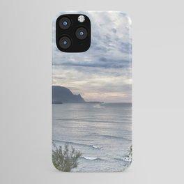 Hanalei Bay Sunset iPhone Case