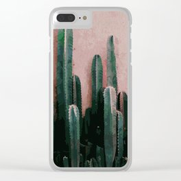 Cactaceae Clear iPhone Case