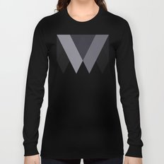 Sawtooth Blue Grey Long Sleeve T-shirt