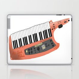How Cool Can A Keytar Get? Laptop & iPad Skin