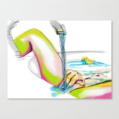 erotic art Canvas Print