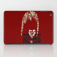 soul eater iPad Cases featuring maka albarn soul eater by Rebecca McGoran