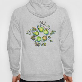 Summer's End - apples and pears Hoody